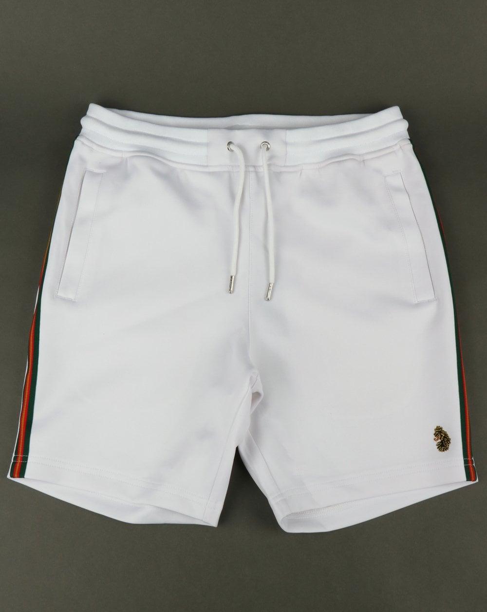 Luke Luke Tyson Vintage Tape Shorts White e0af9748a