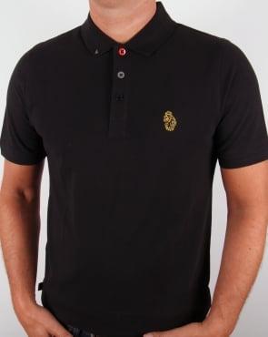 Luke Williams Polo Shirt Black