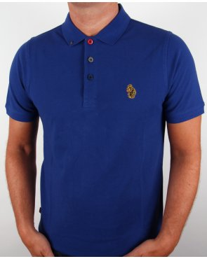 Luke williams polo shirt blue for Luke donald polo shirts