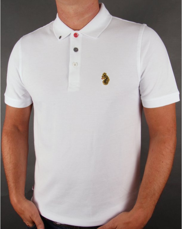Luke Williams Polo Shirt White