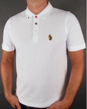 Luke Williams Polo Shirt White