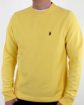 Luke Winner Crew Sweat Lemon