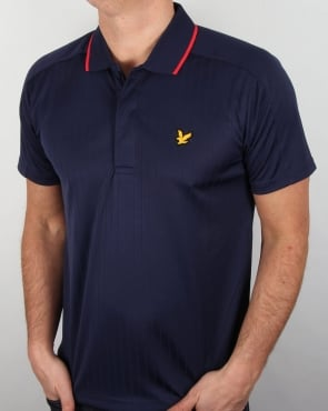 Lyle And Scott Active Banks Polo Shirt Navy