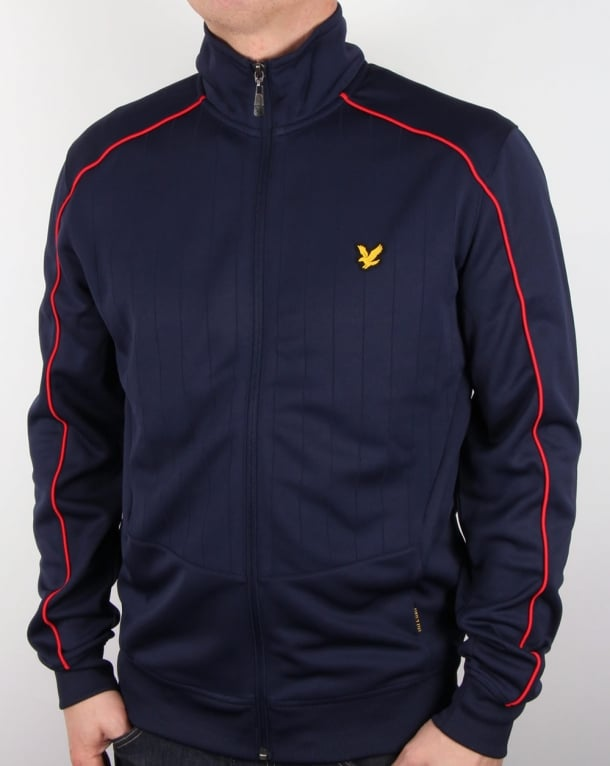 Lyle And Scott Active Bannister Track Jacket Navy