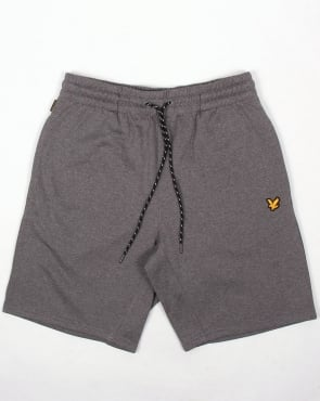 Lyle And Scott Active Charlton Fleece Shorts Grey Marl
