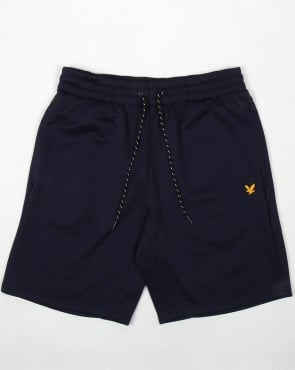 Lyle And Scott Active Charlton Fleece Shorts Navy