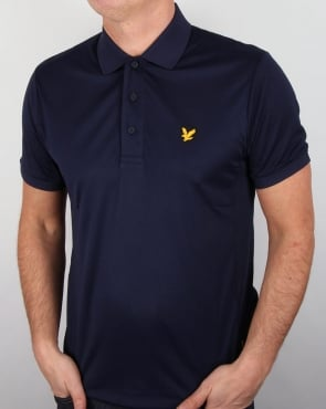 Lyle And Scott Active Pascoe Polo Shirt Navy