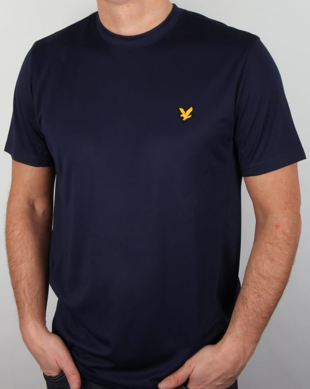 Lyle And Scott Active Peters T Shirt Navy
