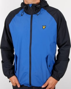 Lyle And Scott Anorak Lake Blue