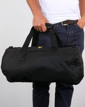 Lyle And Scott Barrel Bag True Black