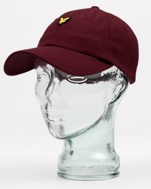 Lyle And Scott Baseball Cap Claret Jug