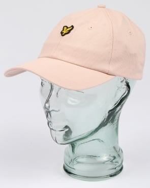 Lyle And Scott Baseball Cap Dusty Pink