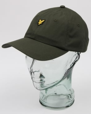 Lyle And Scott Baseball Cap Leaf Green