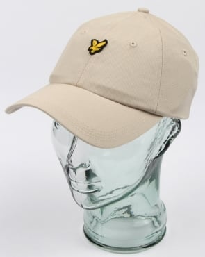 Lyle And Scott Baseball Cap Light Stone