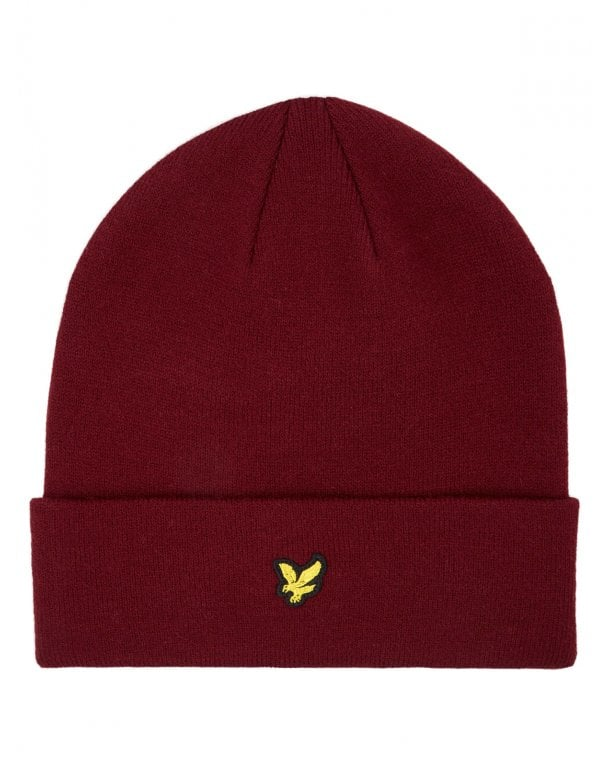 Lyle And Scott Beanie Claret Jug