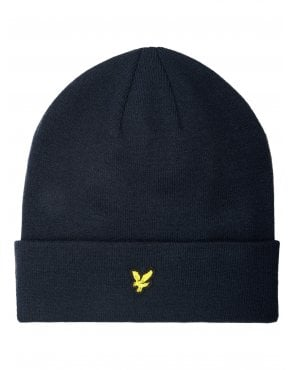Lyle And Scott Beanie Dark Navy