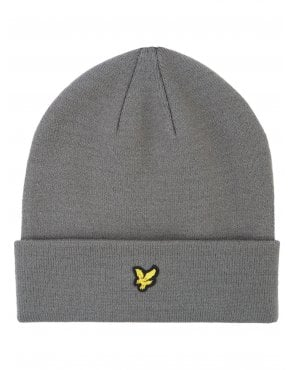 Lyle And Scott Beanie Urban Grey