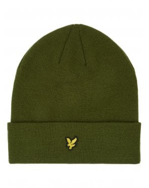 Lyle And Scott Beanie Woodland Green