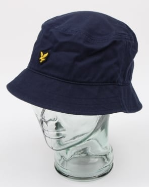 Lyle And Scott Bucket Hat Dark Navy