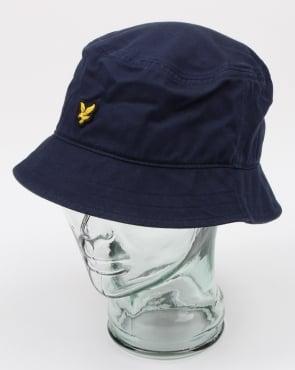 Lyle And Scott Bucket Hat Dark Navy