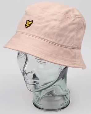 Lyle And Scott Bucket Hat Dusty Pink