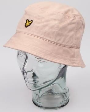 Lyle And Scott Bucket Hat Dusty Pink