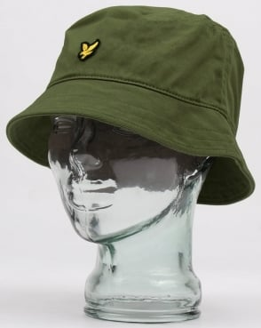 Lyle And Scott Bucket Hat Khaki