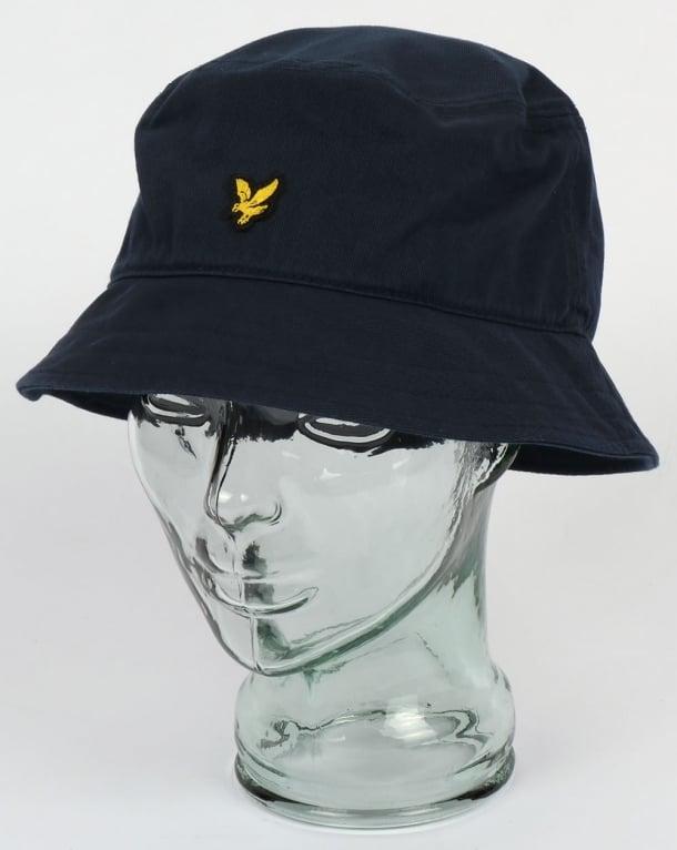 Lyle And Scott Bucket Hat New Navy