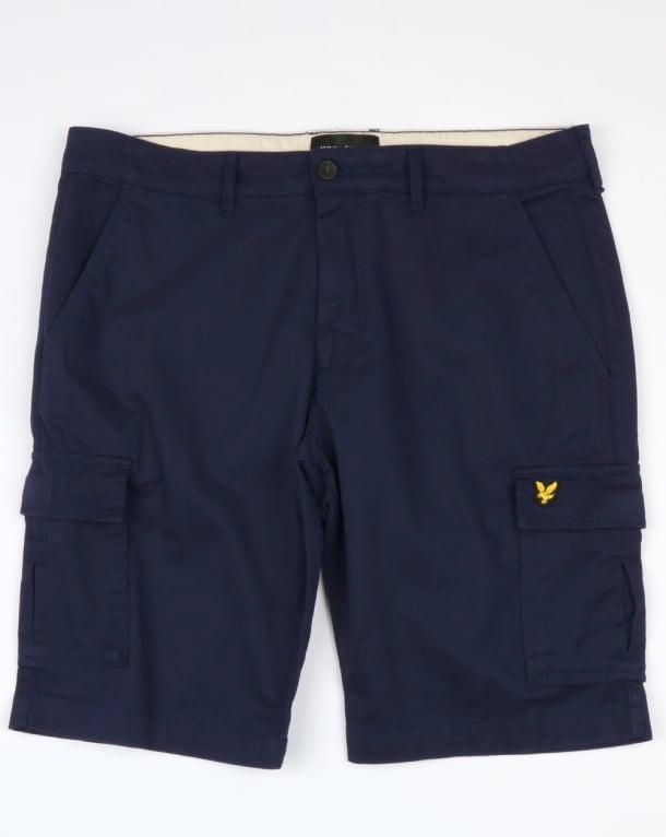 Lyle And Scott Cargo Shorts Navy