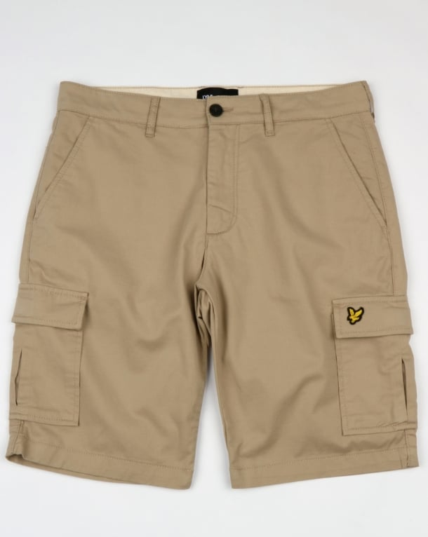 Lyle And Scott Cargo Shorts Stone