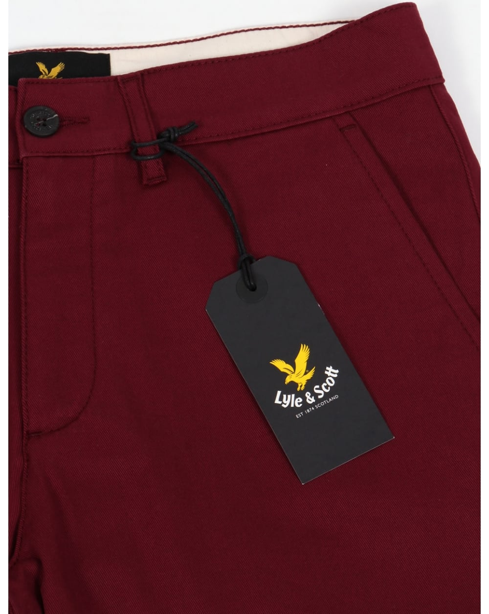 shop half price coupon codes Lyle And Scott Chino Shorts 2 Claret Jug
