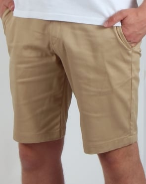 Lyle And Scott Chino Shorts Dark Sand