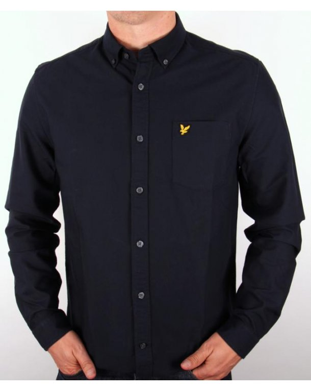 Lyle And Scott Classic Oxford Shirt New Navy