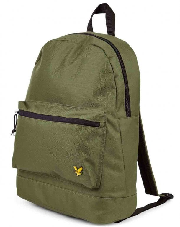 Lyle And Scott Colour Backpack Woodland Green