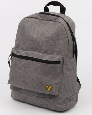 Lyle And Scott Colour Pop Rucksack Grey Marl