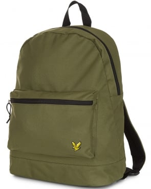 Lyle And Scott Colour Pop Rucksack Olive