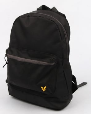 Lyle And Scott Colour Pop Rucksack True Black