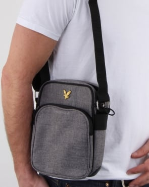 Lyle And Scott Colour Pop Small Items Bag Grey Marl