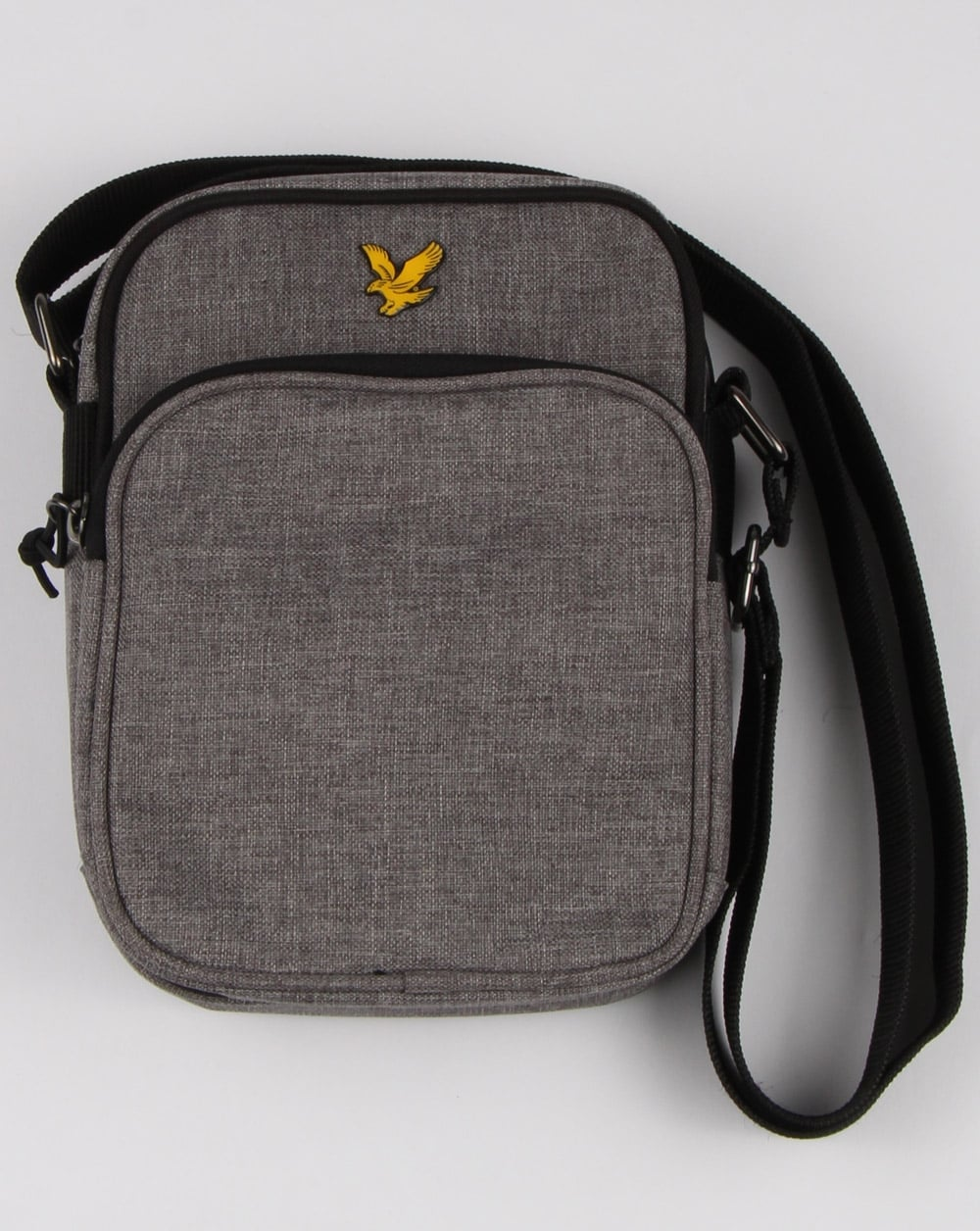 Lyle And Scott Colour Pop Small Items Bag Grey Marl, Mens, Adjustable e6e65018e1