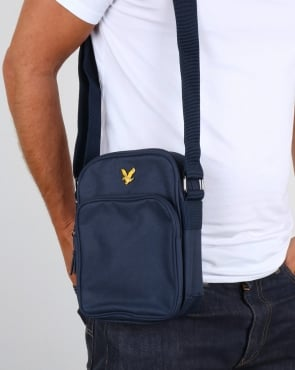 Lyle And Scott Colour Pop Small Items Bag Navy
