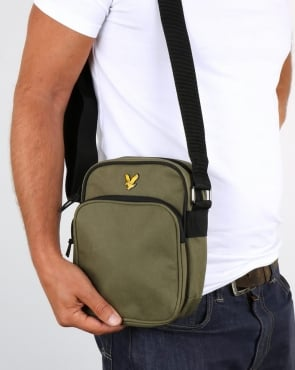 Lyle And Scott Colour Pop Small Items Bag Olive