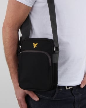 Lyle And Scott Colour Pop Small Items Bag True Black