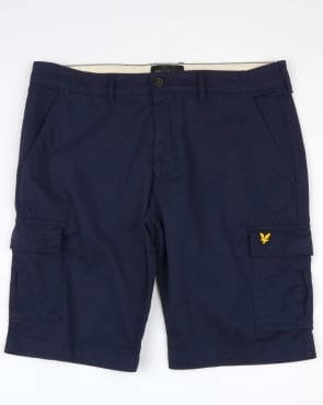 Lyle And Scott Combat Cargo Shorts Navy