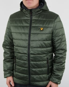 Lyle And Scott Cooke Insulated Foil Jacket Olive