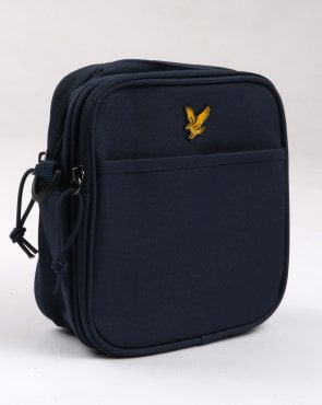 Lyle And Scott Core Pouch Bag Navy