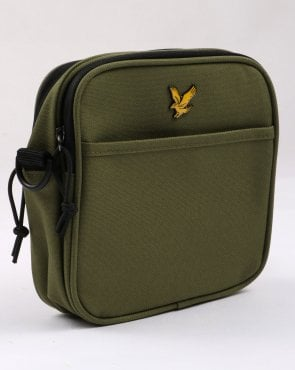 Lyle And Scott Core Pouch Bag Woodland Green