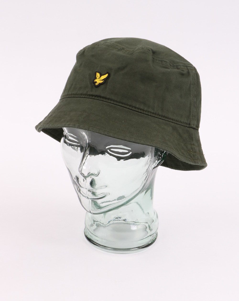 6b48f4b21ded90 Lyle and Scott Lyle And Scott Cotton Twill Bucket Hat Leaf Green