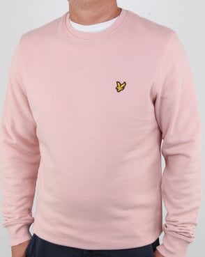 Lyle And Scott Crew Neck Sweatshirt Dusty Pink