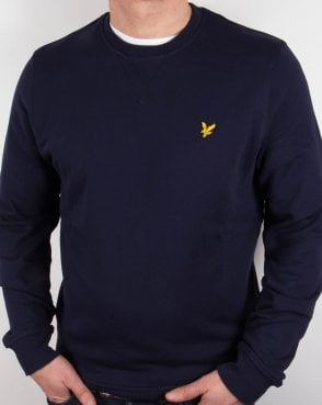 Lyle And Scott Crew Neck Sweatshirt Navy