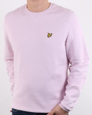 Lyle And Scott Crew Neck Sweatshirt Soft Pink